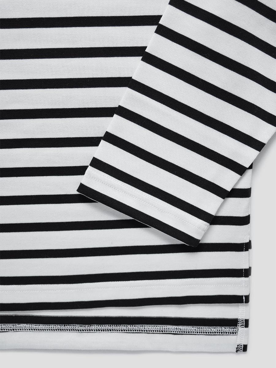 フリルカラーボーダーシャツ(2021-22 Autumn Winter Collection) 14