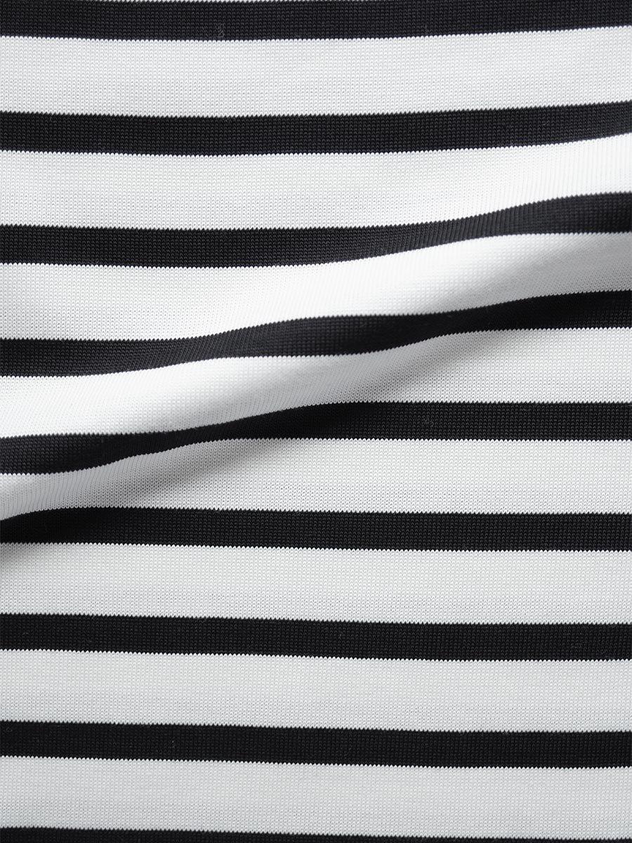 フリルカラーボーダーシャツ(2021-22 Autumn Winter Collection) 15