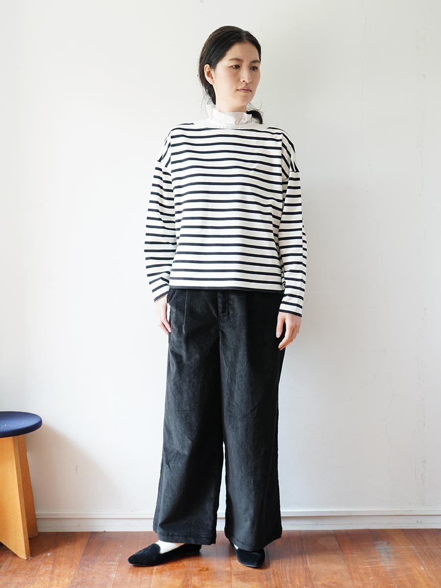フリルカラーボーダーシャツ(2021-22 Autumn Winter Collection) 18