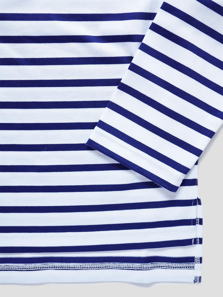 フリルカラーボーダーシャツ(2021-22 Autumn Winter Collection) 8