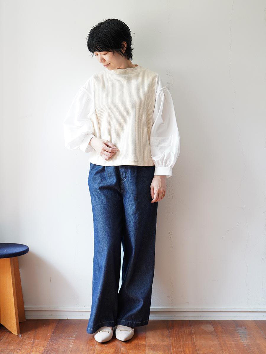 ピンタックスリーブプルオーバー(2021-22 Autumn Winter Collection) 11