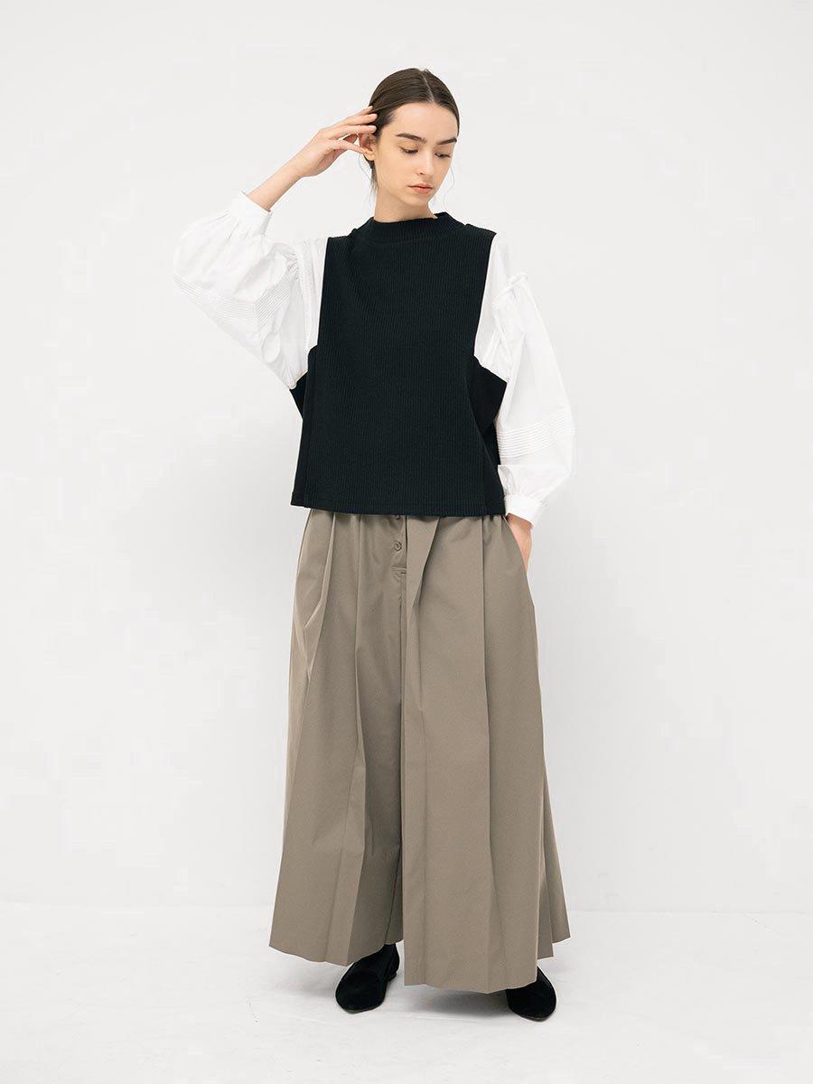 ピンタックスリーブプルオーバー(2021-22 Autumn Winter Collection) 20