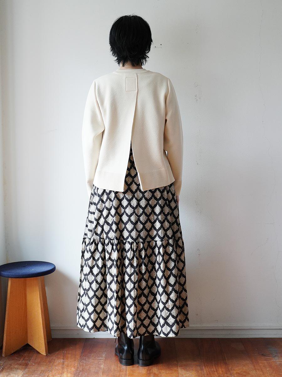 ブロックプリントティアードスカート(2021-22 Autumn Winter Collection) 13