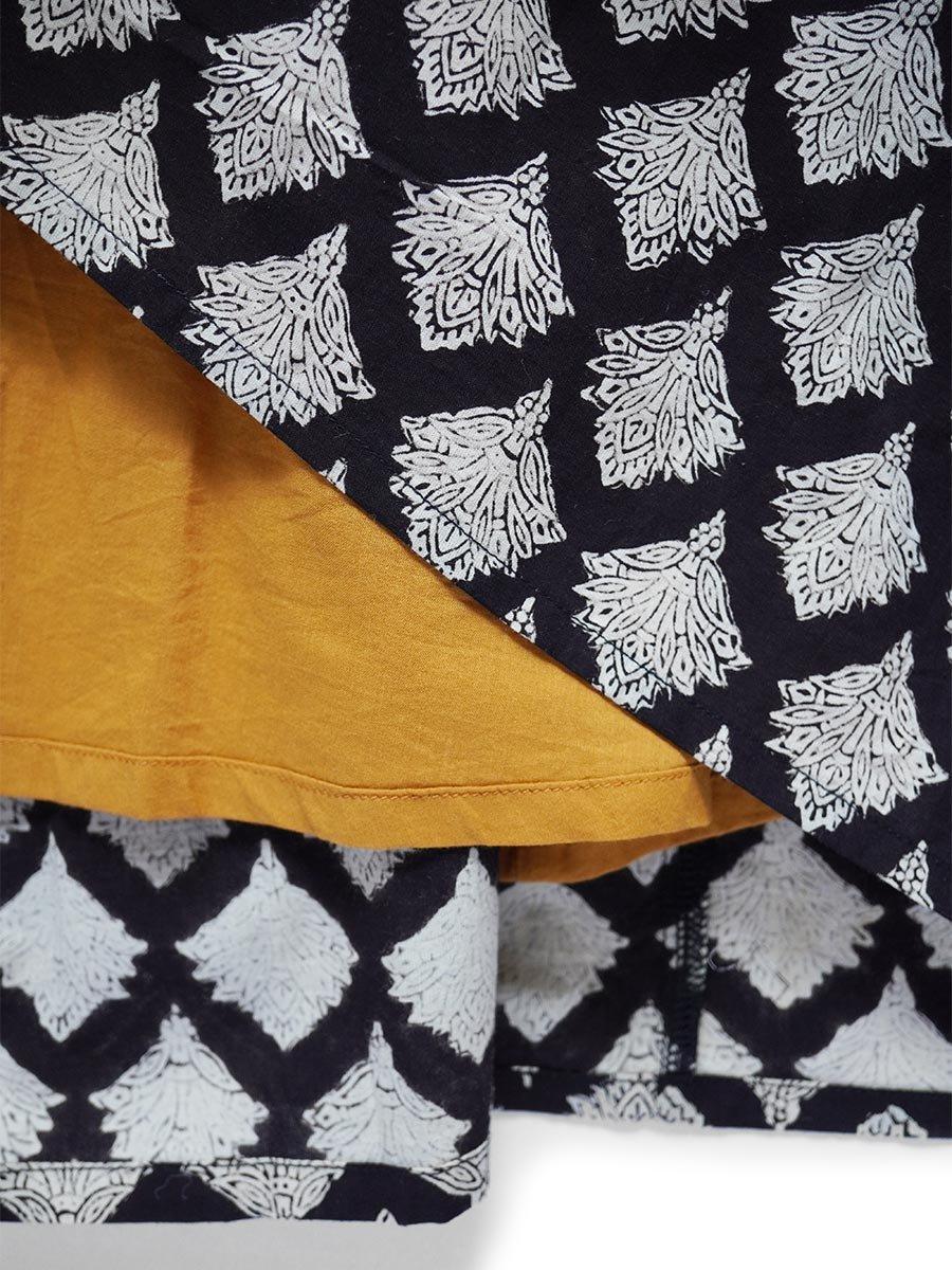 ブロックプリントティアードスカート(2021-22 Autumn Winter Collection) 7