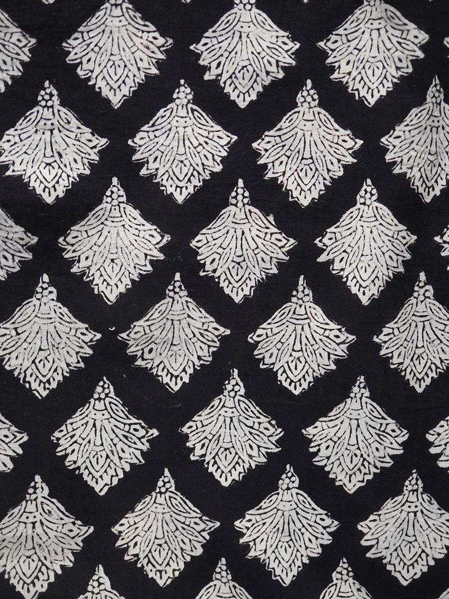 ブロックプリントティアードスカート(2021-22 Autumn Winter Collection) 8