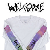 Welcome Skateboards「Fetish ロングスリーブTee」