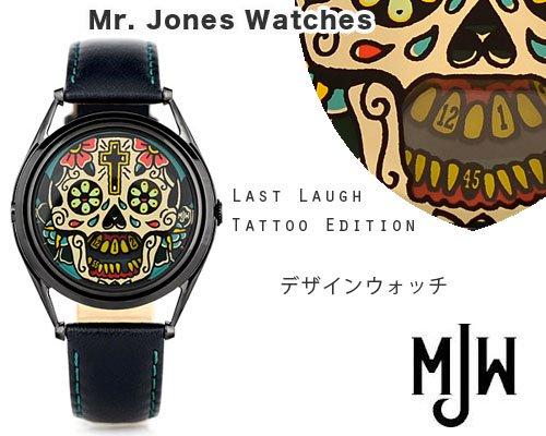 送料無料◆UKデザインウォッチブランドMJW「タトゥー Editionウオッチ」