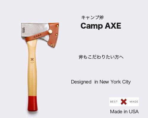 送料無料◆Made in USA こだわりキャンパーに「Camp Axe」