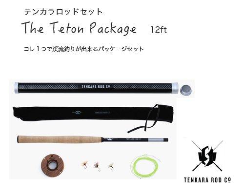 送料無料◆USアウトドアブランドTenkara Rod Co「Tenkara フライフィッシングロッドパッケージ 12フィー…