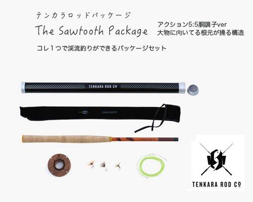 送料無料◆USアウトドアブランドTenkara Rod Co「Tenkara フライフィッシングロッドパッケージ 12ft/胴調子タイ…