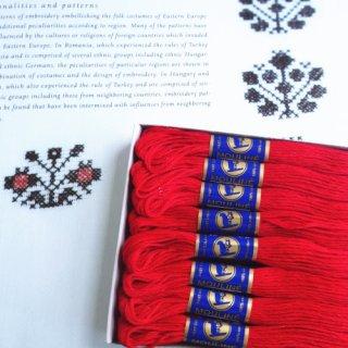 チェコ製 リス印刺繍糸