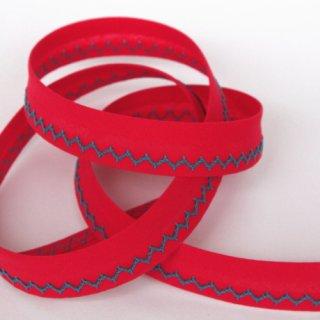 ジグザグステッチバイアステープ 紅色