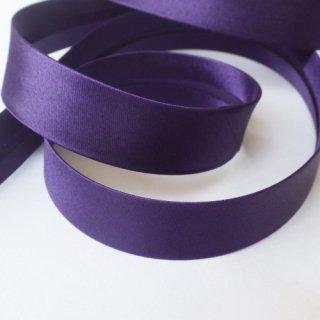 サテンバイアステープ 濃紫