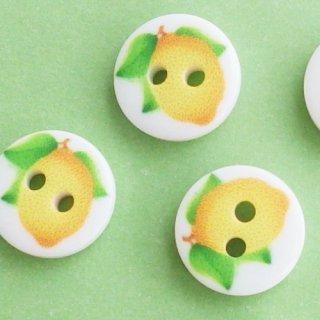 ボタン レモン