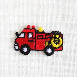 アップリケ 消防車