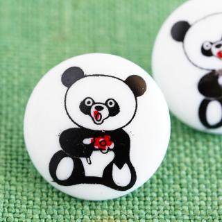 ボタン パンダ