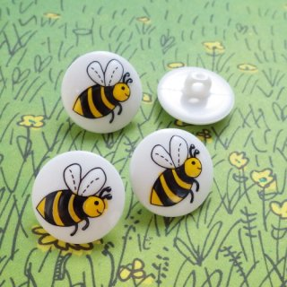 ボタン ミツバチ