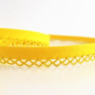 ピコットバイアステープ 黄色
