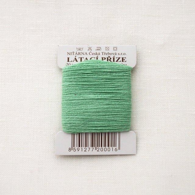 チェコのコットン糸  ミントグリーン
