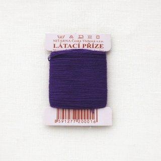チェコのコットン糸  紫