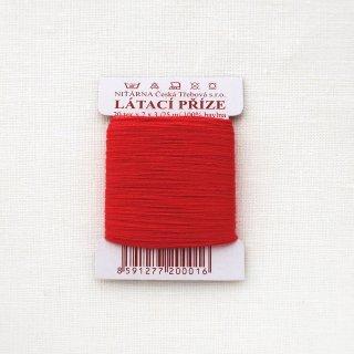 チェコのコットン糸  赤