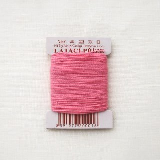 チェコのコットン糸  ピンク