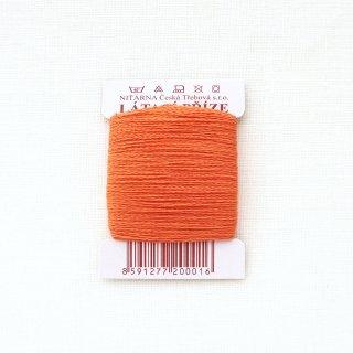 チェコのコットン糸  オレンジ
