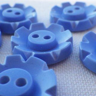 ヴィンテージボタン ブルー18mm