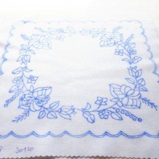 ハンガリー刺繍図案入りクロス カロチャ