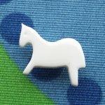 ボタン 白馬