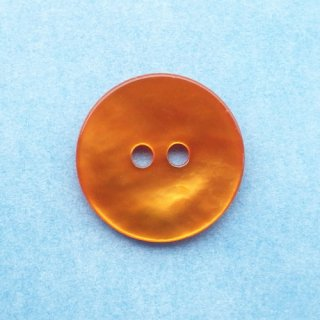 カラー貝ボタン15mm アプリコット