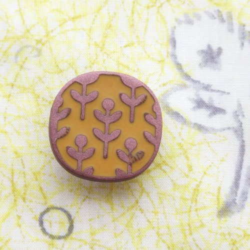 ボタン 花畑