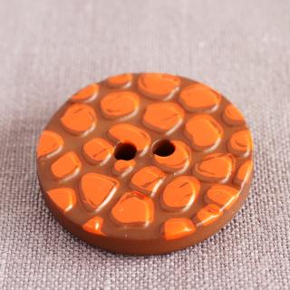 ボタン キリン オレンジ