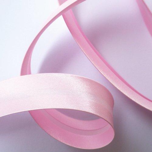 サテンバイアステープ ピンク