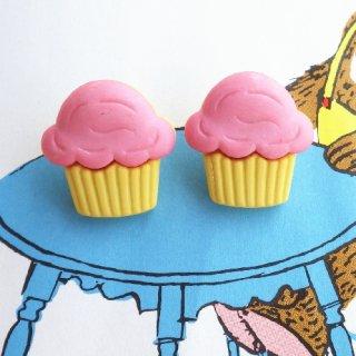 ボタン カップケーキ