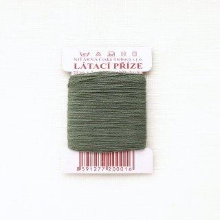 チェコのコットン糸  モスグリーン