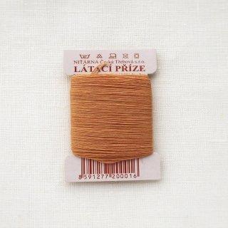 チェコのコットン糸  ゴールドブラウン