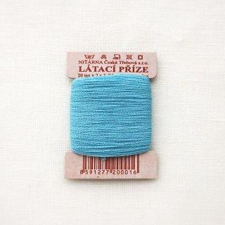 チェコのコットン糸  スカイブルー