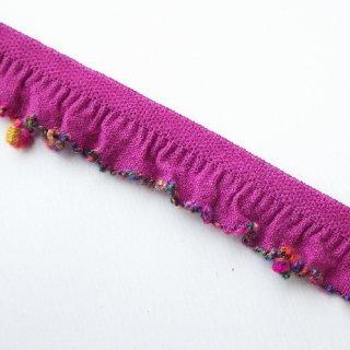 ストレッチテープ 縁飾り(紫)