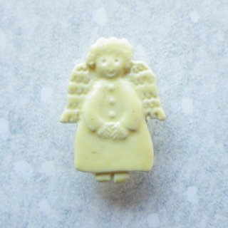 ボタン 天使(クリーム色)