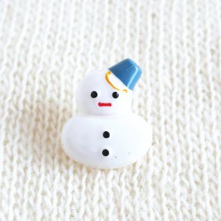 雪だるまのボタン ドイツ製