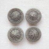 チェコの糸ボタン14mm 砂色