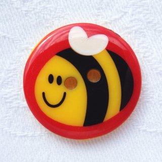 ボタン ミツバチ 25mm