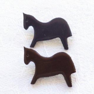 ボタン 馬 フランス製