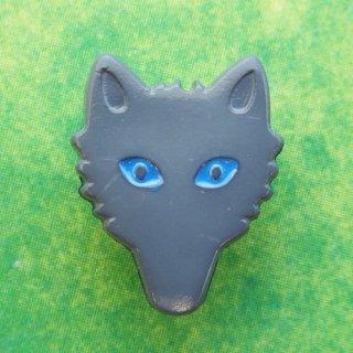 ボタン オオカミ(ブルーアイ)