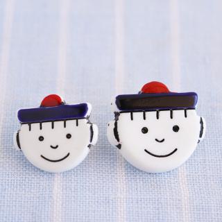 ボタン 水兵さん