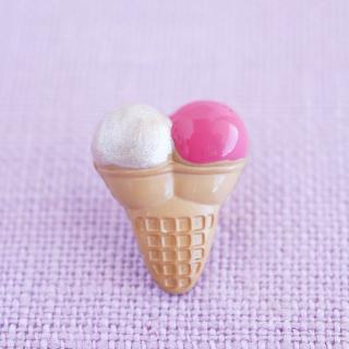 ボタン ダブルアイスクリーム