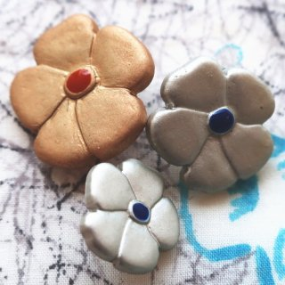 ボタン お花