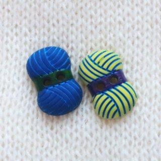 ボタン 毛糸