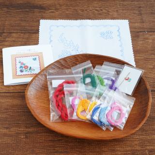 ハンガリー刺繍キット カロチャのクロス